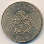 Монако, 10 франков (1979 г.)