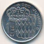 Монако, 1 франк (1975 г.)