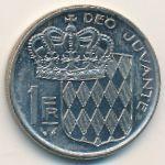 Монако, 1 франк (1978 г.)