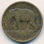 Бельгийское Конго, 2 франка (1946–1947 г.)