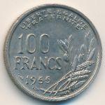 Франция, 100 франков (1955 г.)