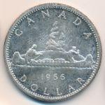 Канада, 1 доллар (1966 г.)