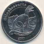 Майотта, 1 франк (2017 г.)