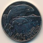 Новая Зеландия, 5 долларов (2010 г.)