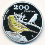 Canary Islands, 200 pesetas, 2017