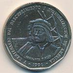 Доминиканская республика, 1 песо (1991 г.)