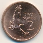 Замбия, 2 нгве (1983 г.)