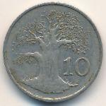 Зимбабве, 10 центов (1980–1994 г.)