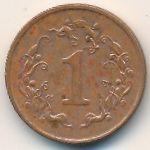 Зимбабве, 1 цент (1989–1999 г.)