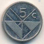 Аруба, 5 центов (2008 г.)