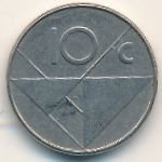 Аруба, 10 центов (1999 г.)