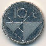 Аруба, 10 центов (2008 г.)