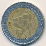 Алжир, 20 динаров (2007 г.)