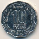 Шри-Ланка, 10 рупий (2011 г.)