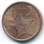 Багамские острова, 1 цент (2009 г.)
