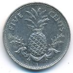 Багамские острова, 5 центов (2000 г.)