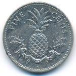 Багамские острова, 5 центов (2004 г.)