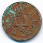 Барбадос, 1 цент (1978 г.)