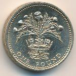 Великобритания, 1 фунт (1984 г.)