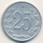 Чехословакия, 25 гелеров (1962 г.)