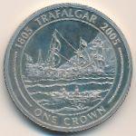 Гибралтар, 1 крона (2005 г.)