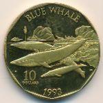 Маршалловы острова, 10 долларов (1993 г.)