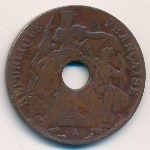 Французский Индокитай, 1 цент (1917 г.)