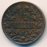 Немецкая Африка, 1/2 геллера (1906 г.)