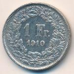 Швейцария, 1 франк (1910 г.)