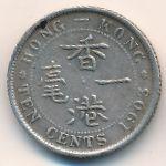 Гонконг, 10 центов (1902–1904 г.)