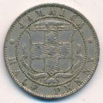 Ямайка, 1/2 пенни (1893 г.)