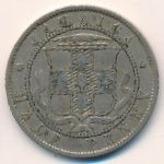 Ямайка, 1/2 пенни (1895 г.)