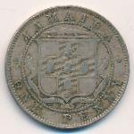 Ямайка, 1 пенни (1885 г.)