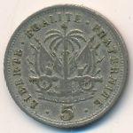 Гаити, 5 сентим (1905 г.)