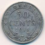Ньюфаундленд, 50 центов (1911 г.)
