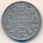 Канада, 10 центов (1902 г.)