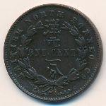Северное Борнео, 1 цент (1886–1890 г.)