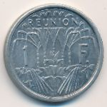 Реюньон, 1 франк (1948–1964 г.)
