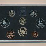 Великобритания, Набор монет (1986 г.)