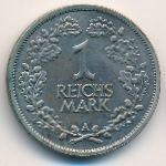 Веймарская республика, 1 рейхсмарка (1925 г.)