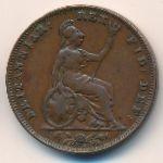 Великобритания, 1 фартинг (1835 г.)