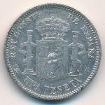 Испания, 1 песета (1903–1904 г.)