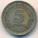Малайя, 5 центов (1948 г.)
