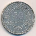 Британский Гондурас, 50 центов (1907 г.)
