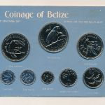 Белиз, Набор монет (1982 г.)