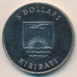 Кирибати, 5 долларов (1982 г.)