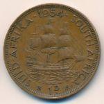 ЮАР, 1 пенни (1954 г.)