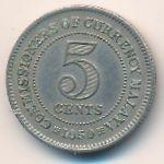 Малайя, 5 центов (1950 г.)