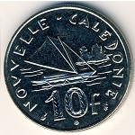 New Caledonia, 10 francs, 1972–2005