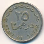 Катар, 25 дирхамов (1973–1993 г.)